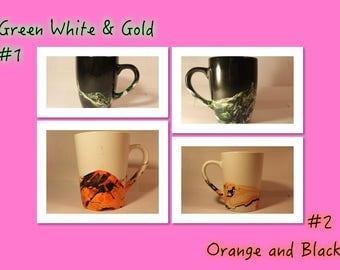 Marbled Coffee Mug