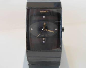 Vintage Rado watch, Men's watch Rado, Rado watch, Rado Ceramica watch, Rado wrist watch, Rado Ceramica Jubile, ceramic watch, Swiss watch