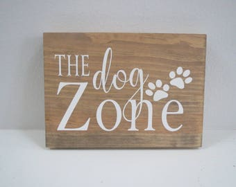 Paw Print Sign/Pet Sign/Dog Sign/Small Animal Sign
