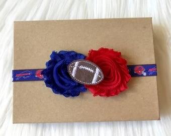 Buffalo Bills Headband, Bills Headband, Football Headband, Baby Headband, Baby Girl Headband, Infant Headband, Newborn Headband, Headband