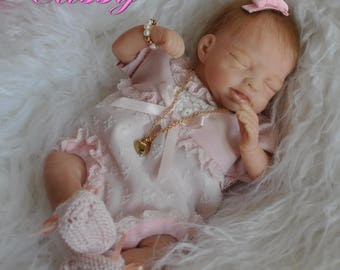 Cassy, baby, baby, reborn from the Becca by Marita Winters 24 cm 0,430 kg kit