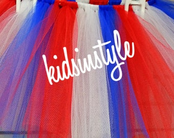 Fourth of July Tutu, July 4th Tutu, independence Day Tutu, Flag Day Tutu, baby tutu, toddler tutu, girl tutu, july 4th Tutu skirt, 4th july