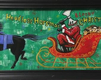 Headless horseman at bloody christmas