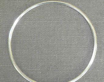 Bangle silver 62 mm