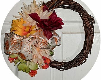 Small warm wreath