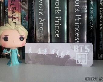 BTS HYYH Pt 2 Silhouette Bookmark
