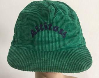Vintage Curduroy Hat Cap