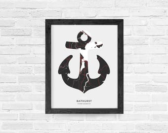 Bathurst Anchor Print