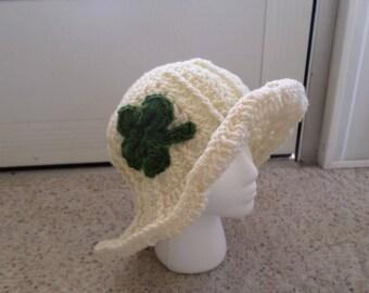 Brim Shamrock Beach Sun Hat