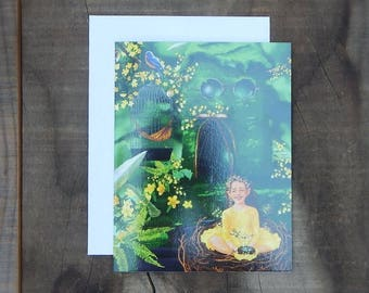 Fairy Notecard - Blossom