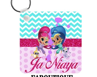 Shimmer and Shine Key Chain
