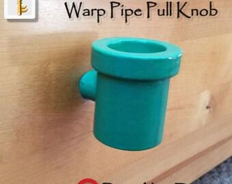 Warp Pipe Pull Knob Geek Gamer Home Decor Nintendo Super Mario Bros Home Decor Unique Pull Knobs Dresser Drawer Kitchen Cabinet