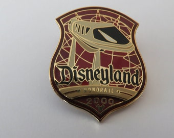 Disney Disneyland Monorail 2000 Pin