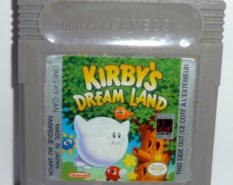 Original Nintendo Gameboy Kirby's Dream Land Game Tested and Works Authentic