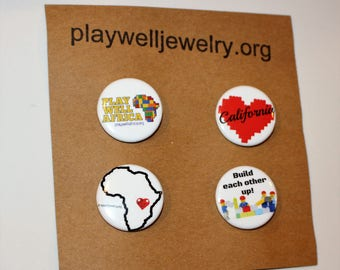 Play Well pins- builder pack