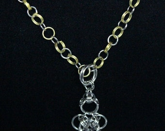 Anchor Chainmaille Necklace