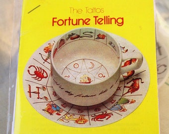 PAPER Booklet for Fortune Teller Zodiac Tea Cup ~ Copy of Original Instructions for The Taltos Teacup/International Collectors Cup
