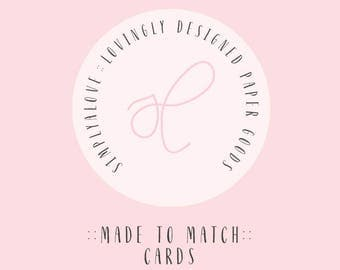 Made to Match Cards - Wishes for Baby | Books for Baby Cards