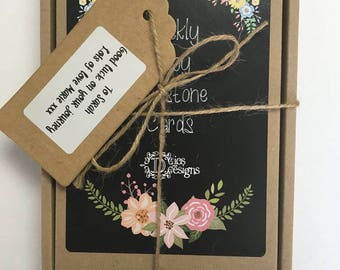 Gift Message, Personalised Labels and Luxury Gift Boxes for our Milestone Cards and Wish Bracelets