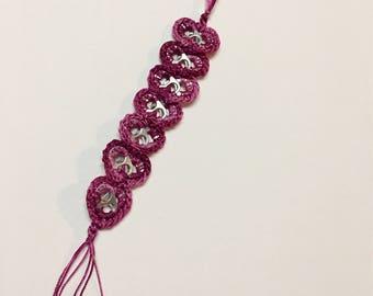 Soda Tab Bracelet (heart shaped)