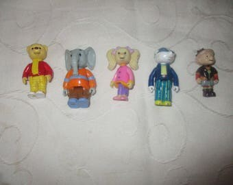 Rupert the Bear Figures (set of Five Figues)