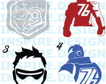 Soldier 76 Decal