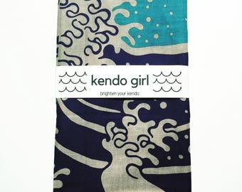 Kendo Tenugui / Blue Fuji