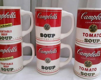 Vintage Campbell's Soup Mugs