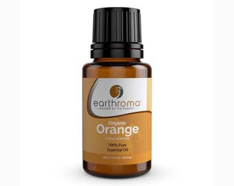 Organic Orange Essential Oil | 5 mL | 15 mL  30 mL | 100% Pure Therapeutic Grade