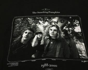 Vintage The Smashing Pumpkins shirt, the greatest Hits shirt, billy corgan, james iha,