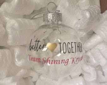 Custom thirty one ornaments