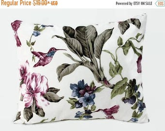 20% off Floral Pillow, Floral Bed Pillow, Floral Pillow Cover, Floral Decorative Pillow, Floral Couch Pillow, Floral Sofa Pillow, Size 16x20