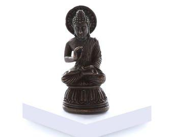 Miniature Brass Buddha