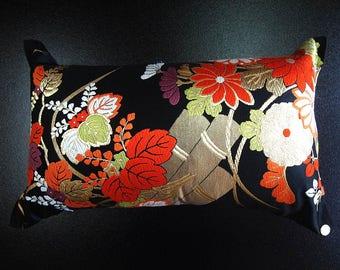 Cushion of Obi (Kimono) Japanese Silk  0000091