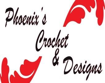 Phoenix Buddy Crochet Dolls