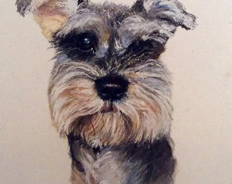 Pastel painting of your pet. A4 - A3 and larger if required.