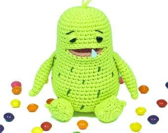 Berndt, the monster · Amigurumi pattern