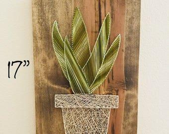 Aloe Succulent string art (large)