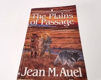 The Plains of Passage by Jean M Auel  Paperback  Adventure