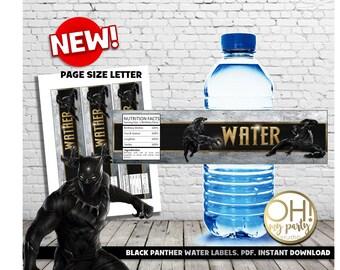 BLACK PANTHER thank you tags,black panther party,black panther,black panther birthday,black panther favors,black panther printable,marvel