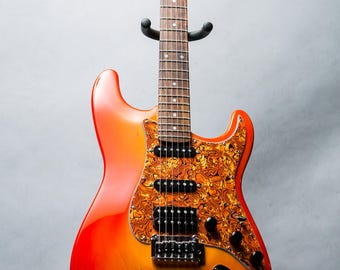 Custom Curved Body Electric Guitar