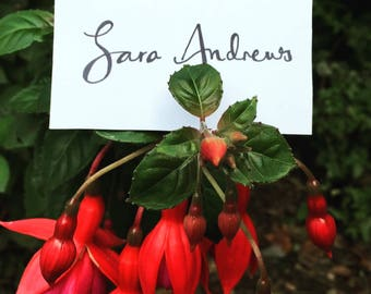 Handwritten Place Name Cards