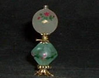 GLASS GLOBE LAMP