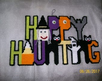 Happy Haunting Wall Sign