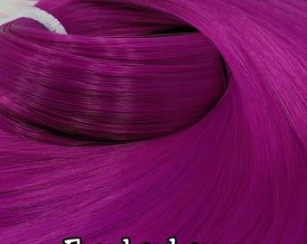 Frankenberry Dark Magenta Nylon Doll Hair Hank for Rerooting Barbie® Monster High® Ever After High® My Little Pony Fashion Royalty Disney