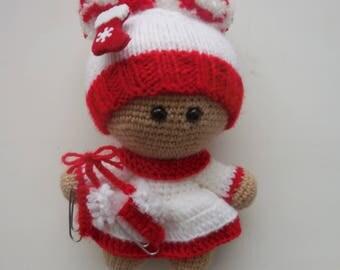 """Knitted doll """"Yo-Yo"""""""