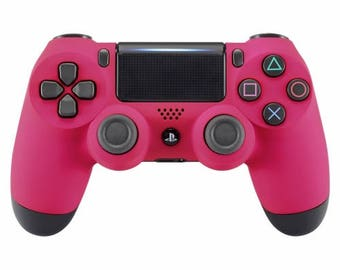 New Sony Playstation Dualshock PS4 Wireless Controller Custom Soft Touch Pink