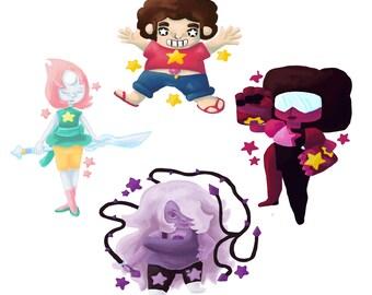 Steven Universe Stickers (75% off)