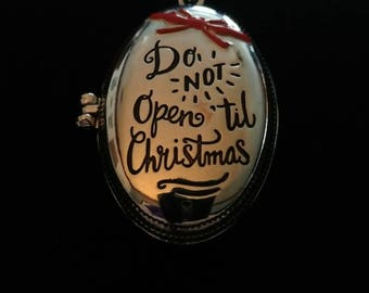 Don't Open Locket