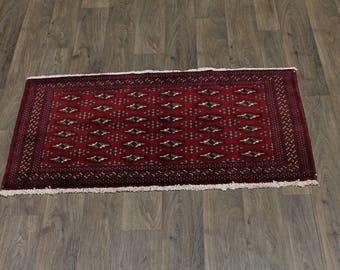 2X5 Nice Tribal Small Size Turkoman Persia Wool Rug Oriental Area Carpet 2'2X4'6